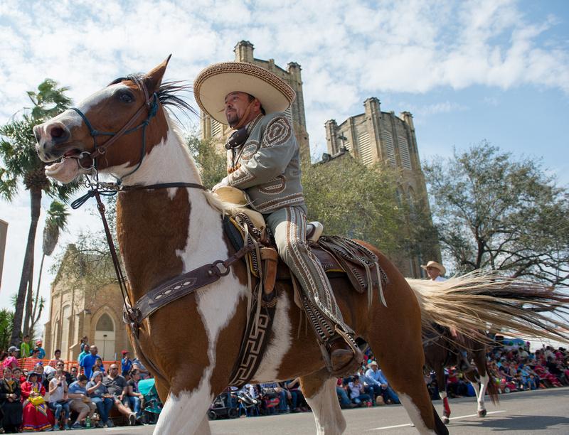 Charro Days International Parade