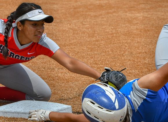 Laredo Cigarroa Brownsville Veterans Region IV-5A Softball Game